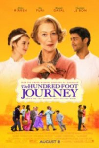 movie poster for The Hundred Foot Journey